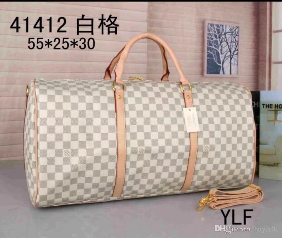 f00afb5a70 AAA 2018 Hot Sale Newest L`V Men Women Travel Bag Duffle Bag Brand Designer  Luggage Handbags Large Capacity Sport Bag 55CM Messenger Bags Laptop Bags  From ...
