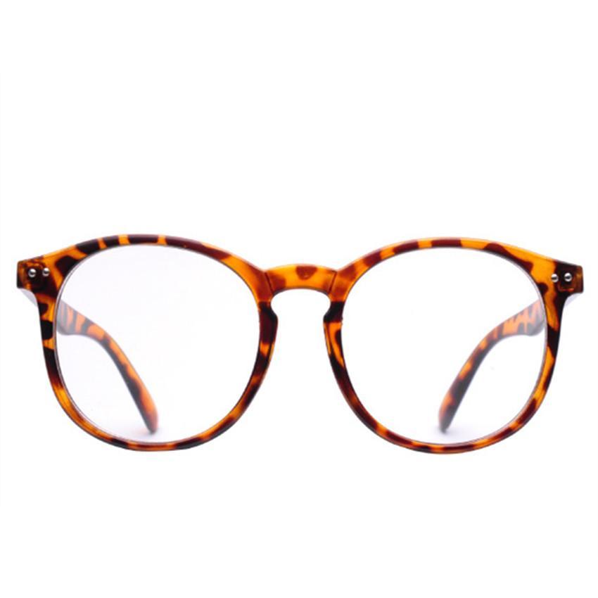 27d37cfdcd 2019 Oversized Clear Lens Glasses Men Women Retro Metal Frame Eyeglasses  Transparent Optical Spectacle Frames From Haydena