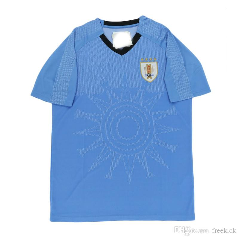 2fc5d2e95 Thailand Quality 2018 World Cup Jerseys Uruguay Home Blue And Away ...