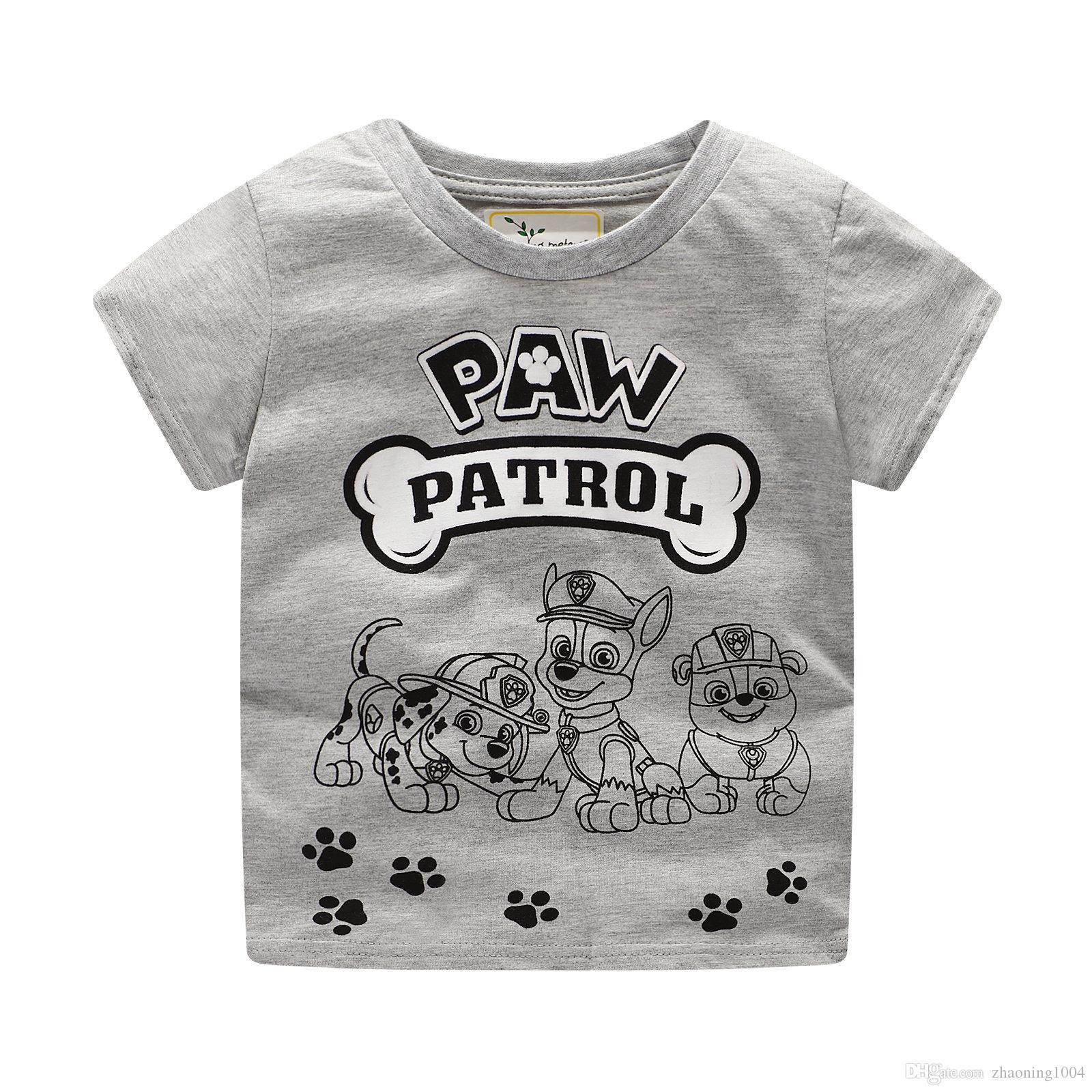 Designer Kids Clothing Children T Shirt Baby Boy Clothes For Summer