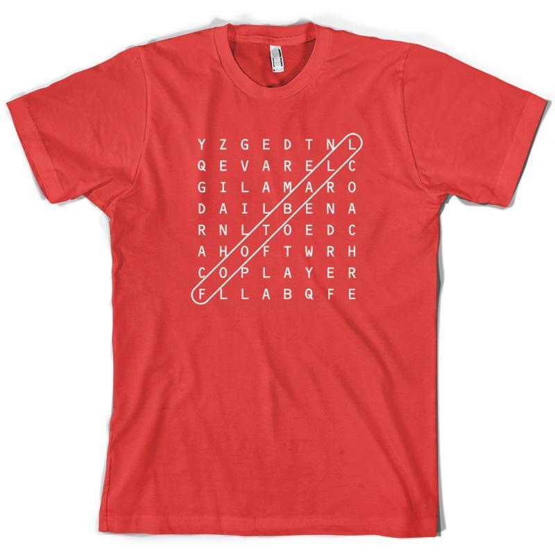 9713fe1a6 WordSearch Football Mens T Shirt 10 Colours Football Soccer Crossword Tna  Shirts Humorous Tee Shirts From Yuxin04, $13.8  DHgate.Com