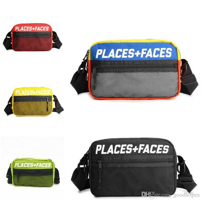 PLACES+FACES Fanny Pack Travel Sport Pouch Skateboards Men Women Shoulder Bag Outdoor Message Bags Mini Mobile Phone Packs Storage Bag