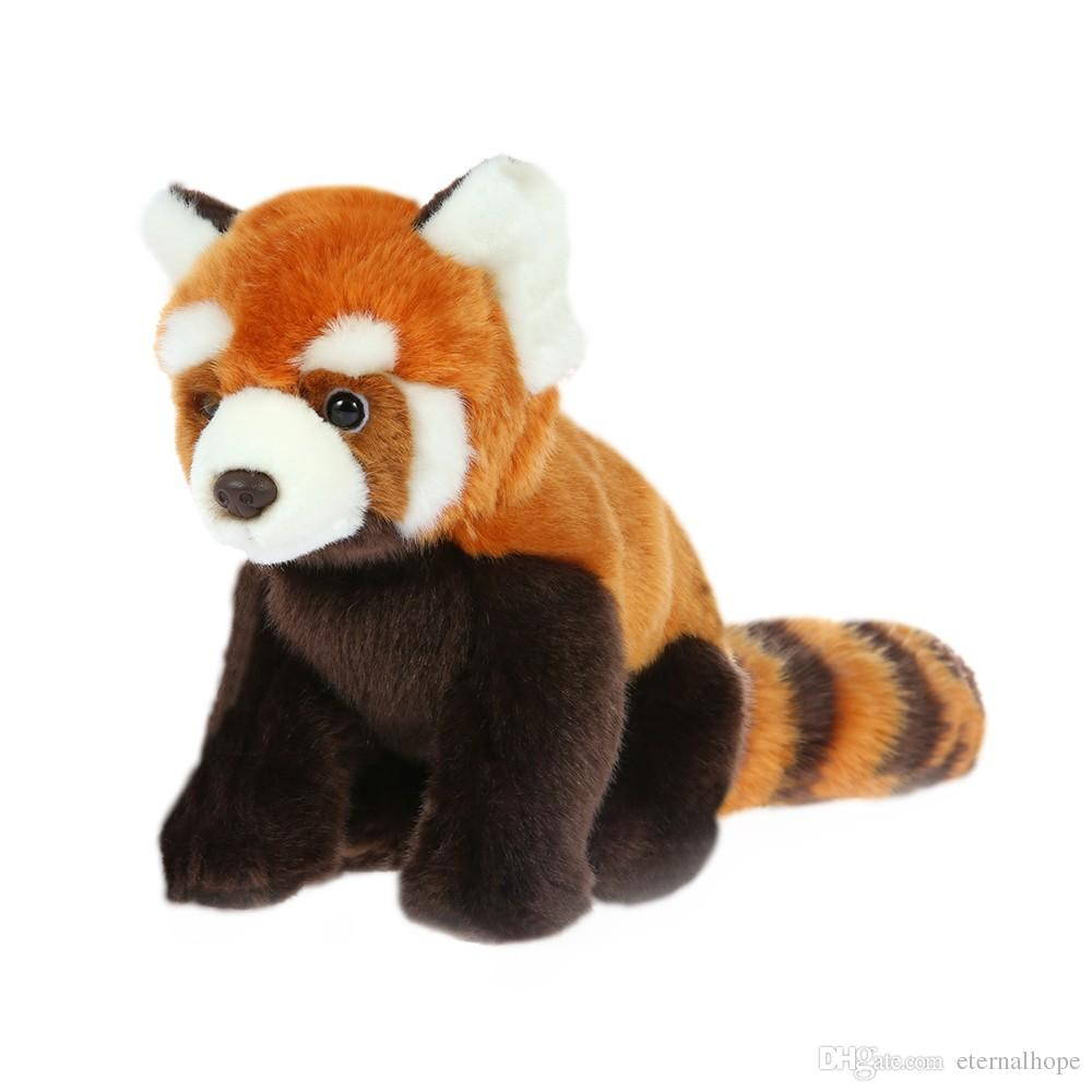 2019 Lifelike Comfortable And Soft Plush Red Panda Toy Lovely