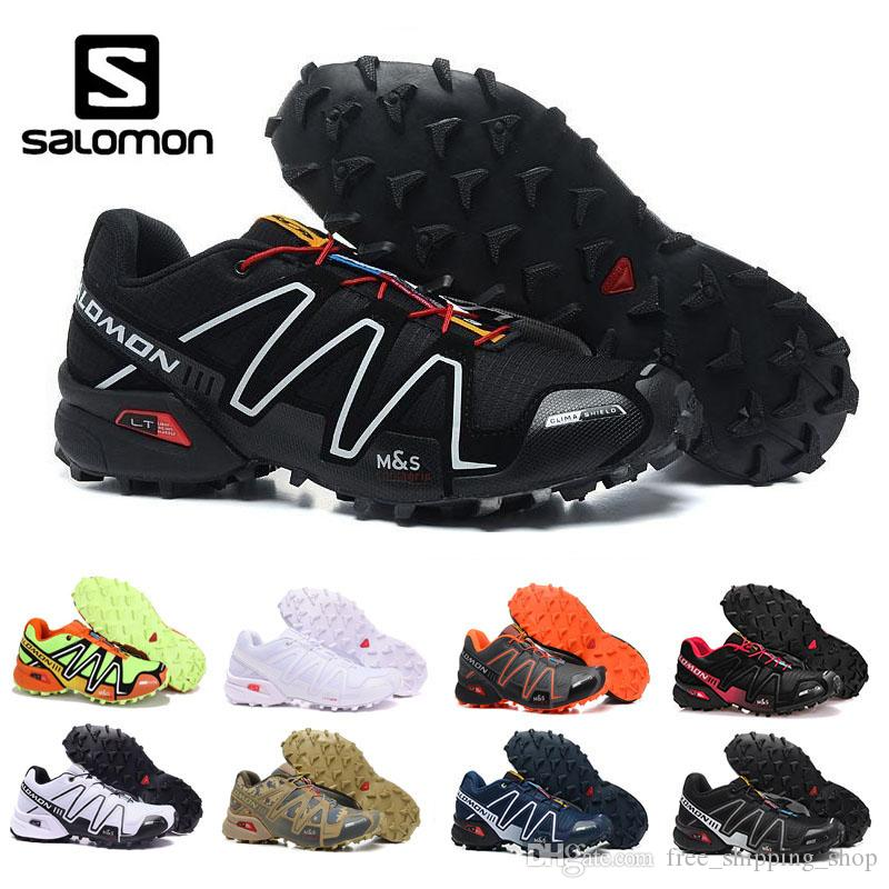 ad91079988e ... new zealand compre salomon classic blanco negro speed cross 3 cs iii  comfortable sports speed cross