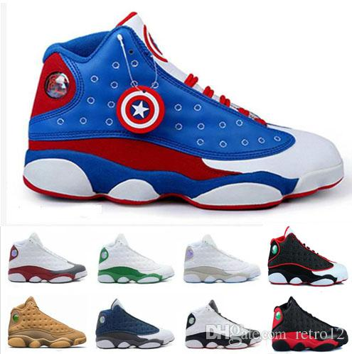 11d1c12a9ef374 New 2018 High Quality Shoes 13 XIII 13s Men Basketball Shoes Bred ...