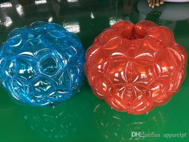 Attività all'aperto all'aperto gonfiabile delle palle dell'amplificatore della bolla del gioco dei bambini della bolla di aria della bolla di aria del PVC della palla gonfiabile del paraurti del giocattolo gonfiabile del PVC