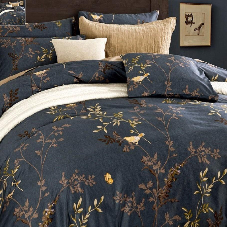 screenshot bedding sets bird duvet products and ink blue rags flower