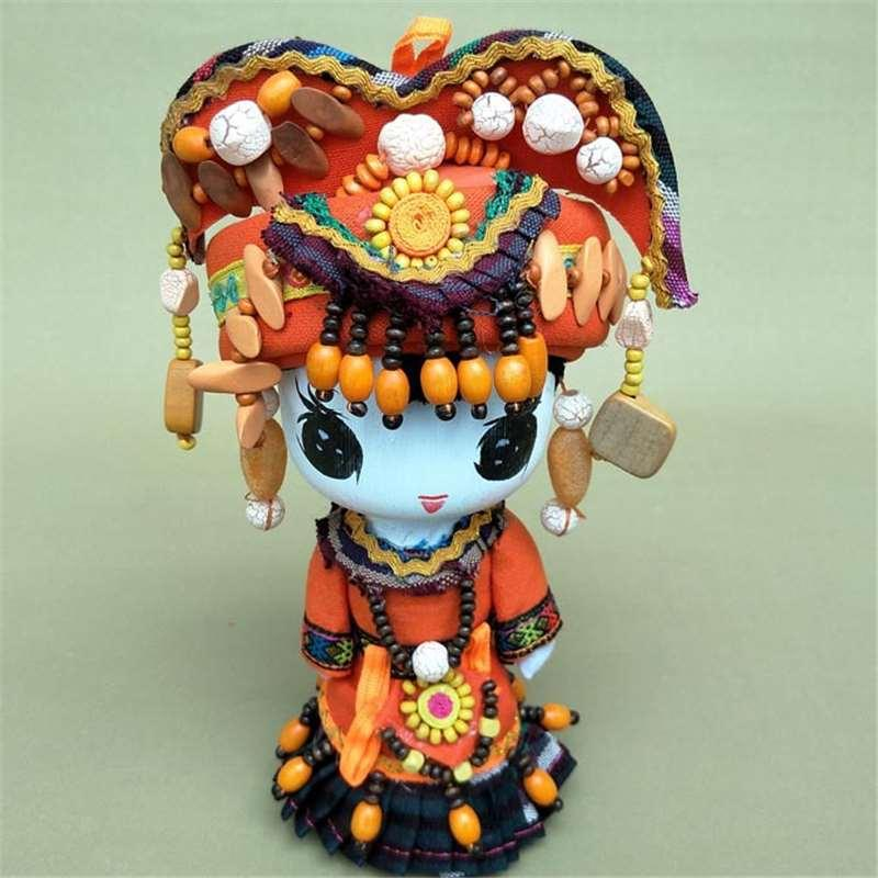 Cartoon doll Home Furnishing national jewelry, shop decoration, creative design, cartoon gift