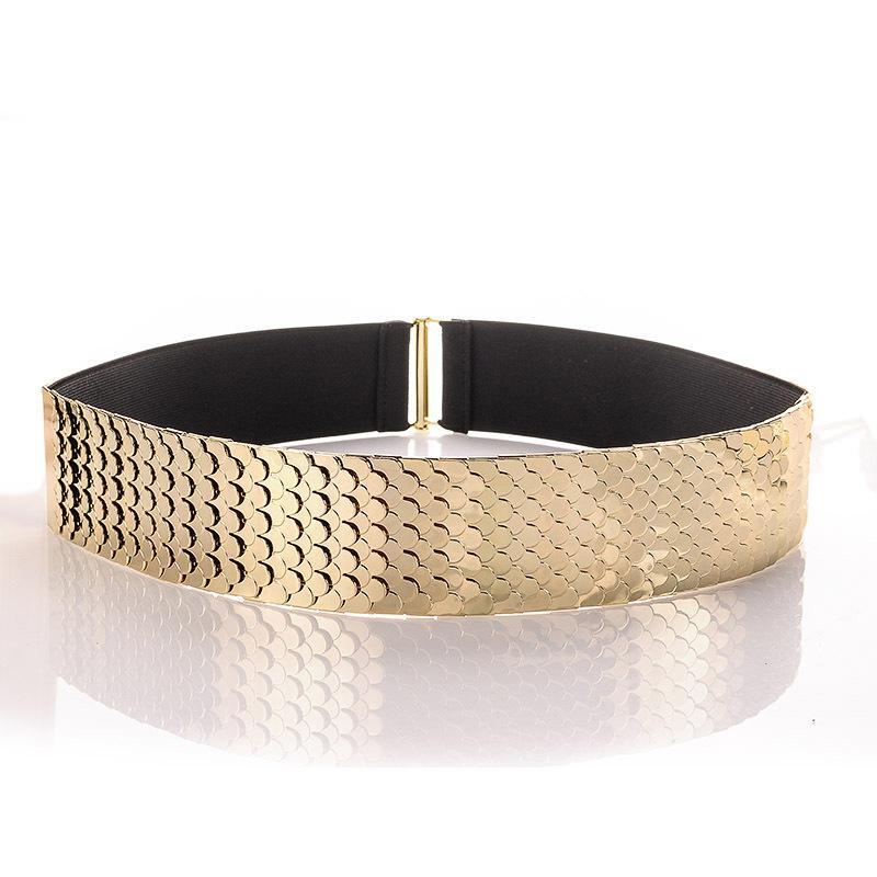 Acquista Cinture Elastiche In Vita Da Donna Con Cintura Elastica In Vita  Femminile Con Cintura In Oro A  24.69 Dal Yanzhoucheng  34d74ef97f29