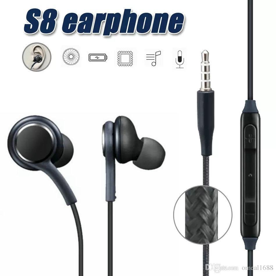 Casque Pour Téléphone S8 écouteurs Casque Casque écouteur Microphone