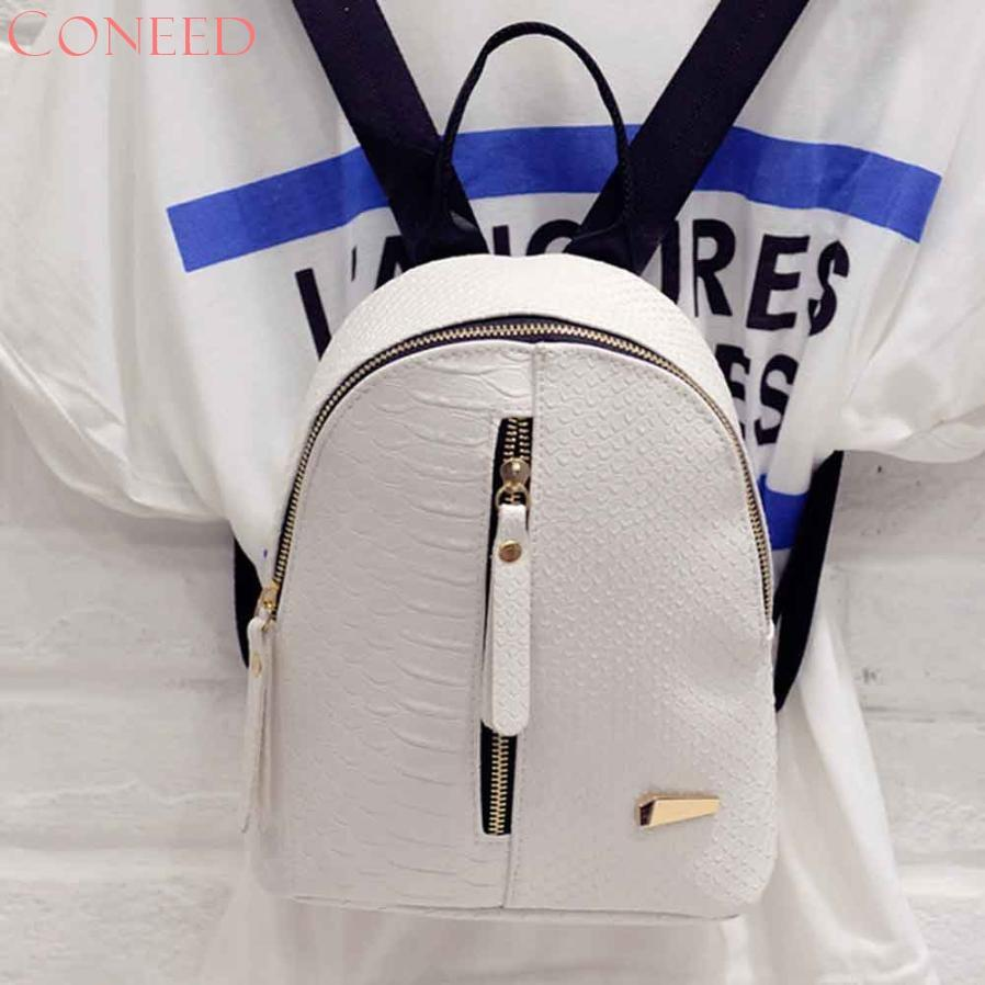 e16c72c873 CONEED Fashion Women Leather Backpacks Schoolbags Travel Shoulder Bag For  Youth Juy13 38 Backpack Schoolbag Bag for Backpack Bag F Online with   29.49 Piece ...
