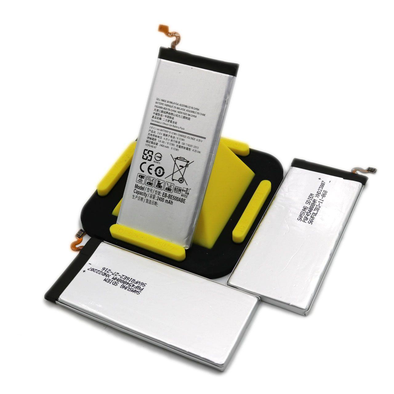 Samsung Galaxy E5 Için toptan Pil 2400 mAh EB-BE500ABE E5000 Telefon batterie Galaxy A5 Dahili Yedek polimer Pil