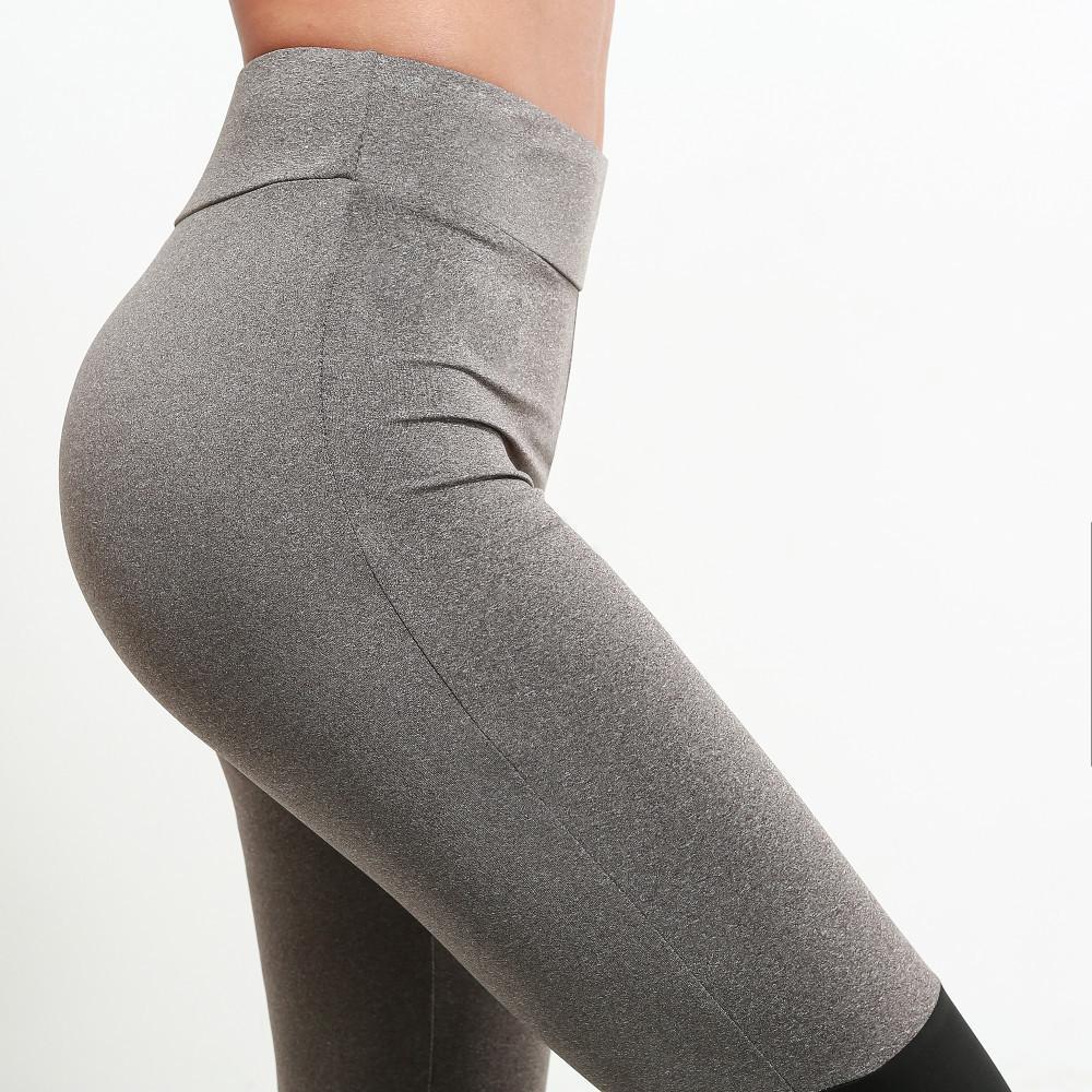 67369e76f4c78 2019 Hot Sale Mesh Splice Fitness Leggings Trousers For Women Athleisure  2017 Jeggings Grey Black Slim Legging Pants Female Elastic From Jaokui, ...