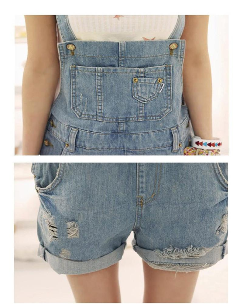 704bf6c4dda 2019 Wholesale Top Quality 2016 Women Girls Fashion Washed Jeans Denim  Casual Hole Jumpsuit Romper Overalls From Augusss