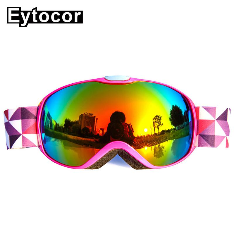 20462257736e 2019 EYTOCOR Anti Fog Children Ski Goggles Double Lens Winter Snow Sports  Snowboard Goggles Snow Skiing Glasses For Boys Girls Kids From Fwuyun