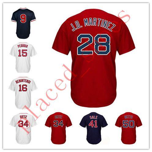 NEW Hot Sale 50 Mookie Betts Men s  34 Jersey 2018 World Series 28 ... 61e745fbe