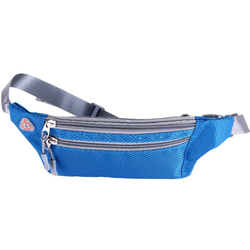 Relojes Y Joyas 2018 New Running Waist Packs Men Waist Bag Women Waterproof Nylon Phone Pouch Wallet Outdoor For Climbing Fishing