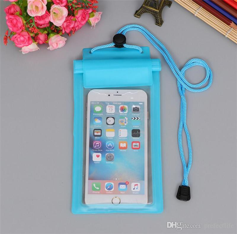 Waterproof Phone Case for Iphone 7 8 X 6 Plus Bag for Samsung Galaxy S9 S8 Plus S7 Edge for Huawei P9 Case