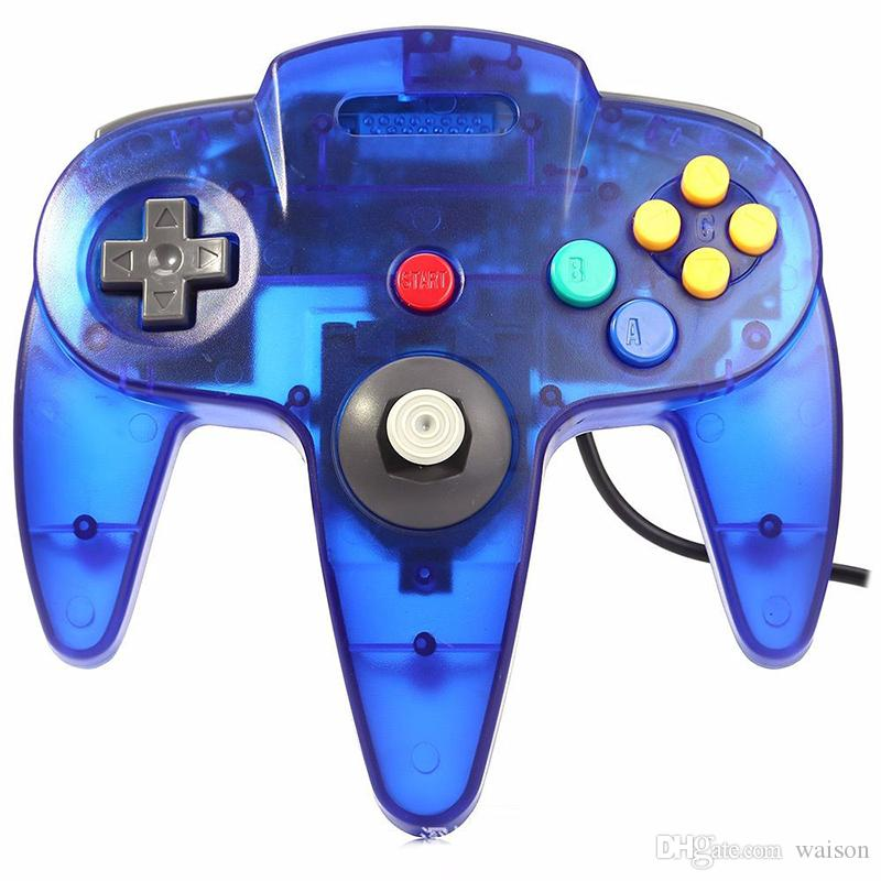 Wired Joystick Gamepad For Gamecube USB Games N64 Controller with USB Interface PC Mac Controle Hot Sale DHL