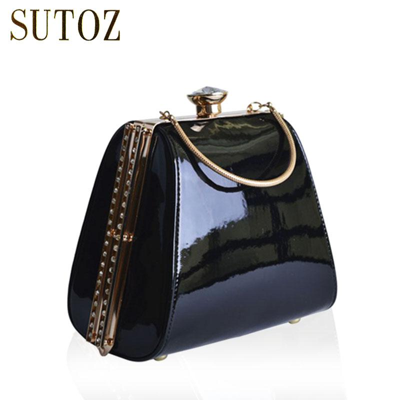 Luxury Handbags PU Women Bags Designer Diamond-studded Lady Day Clutch  Evening Box Bag Purse Messenger Shoulder Bag Pouch BA401 Luxury Designer  Handbags ... 2892e4c5d49ed