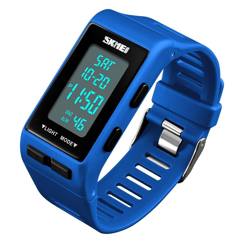 f5bf22c57101 Compre Reloj Digital De Moda Reloj Deportivo SKMEI Relojes LED 12 24 Horas Reloj  Electrónico Resistente Al Agua Impermeable Para Hombres Mujeres A  31.39 ...