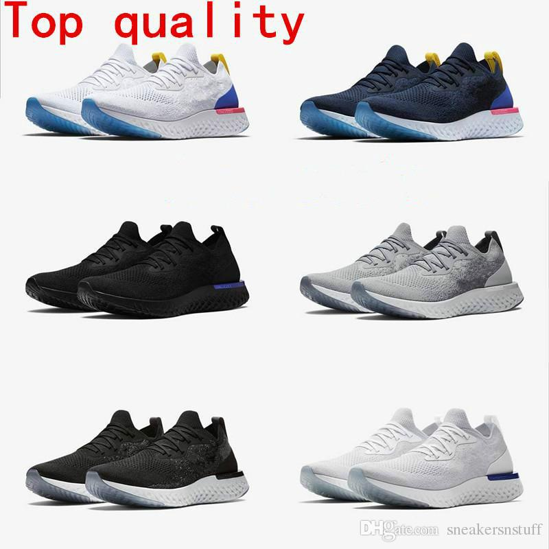 271ef8e9e6af3 2018 Top Sale Epic React Foam Running Shoes Fly Knitting Upper Vamp ...