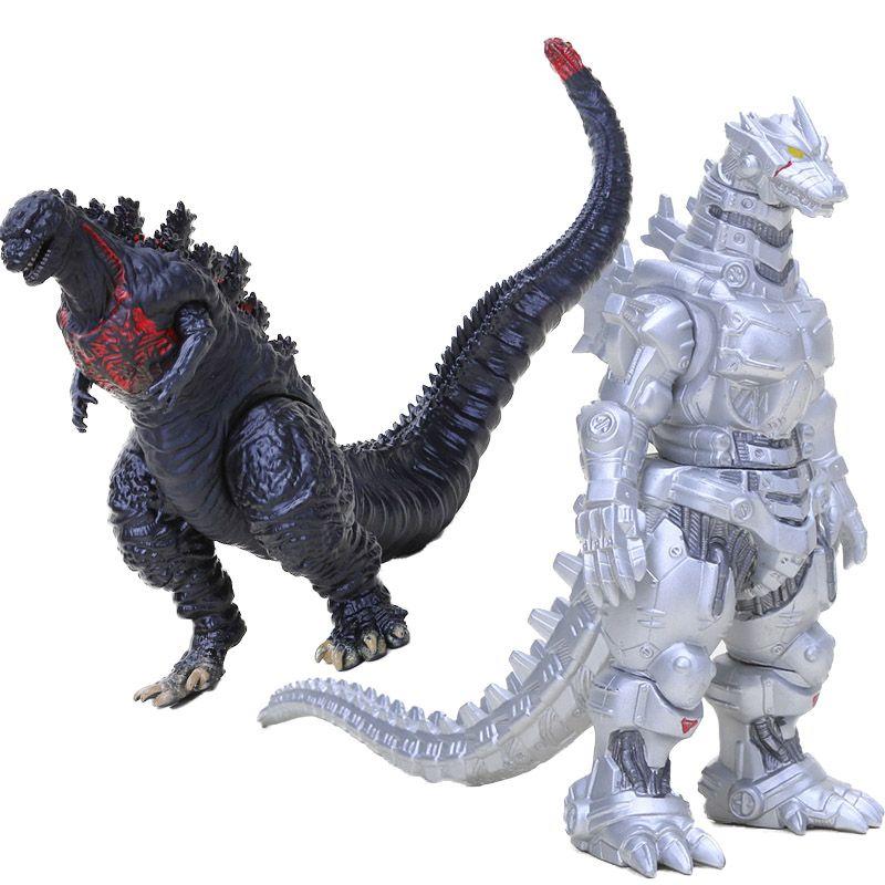 2019 Movie Godzilla Dinosaur Dragon Toy Ultraman Godzilla