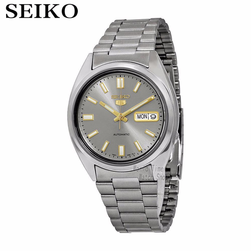 7de2e0c35ab1 Compre 5 Reloj Automático 21 Joyas Reloj De Hombre Con Esfera Gris Hecho En  Japón SNXS75K1 SNXS79K1 SNKG83J1 SNXS73J1 SNXS75J1 SNXS77J1 A  161.44 Del  ...