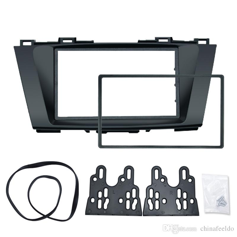 Car Stereo Panel per Mazda 5 Premacy Nissan Lafesta High Star 2DIN Radio Fascia Frame Refitting Dash Trim Kit # 5014