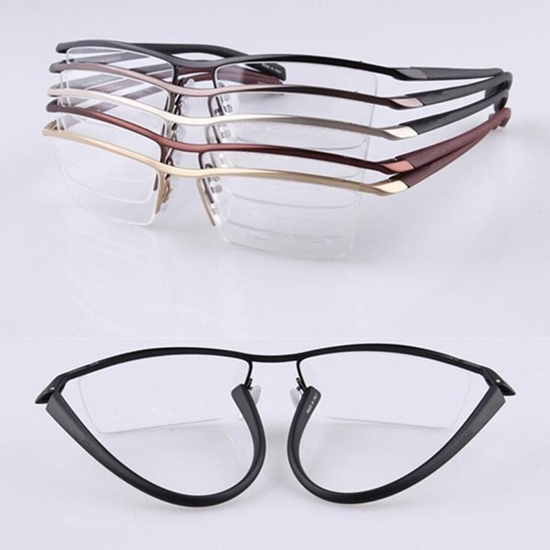 Großhandel Tr90 Fexible Halbrandlose Brillenfassungen Männer Frauen ...