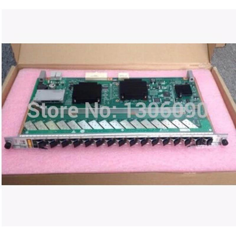 Original GPFD C++ 16 ports GPON Board with 16 pieces SFP C++ For HUAWEI  MA5608T MA5680T H802GPFD H803GPFD H805GPFD