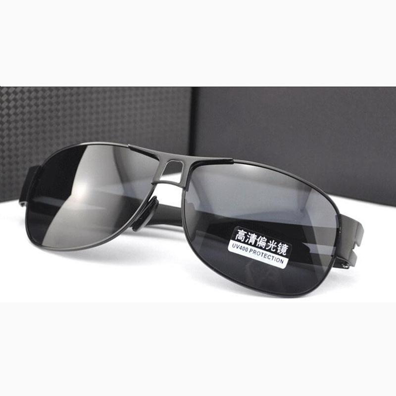 c1b53d34d63b Großhandel 2018 Herren Sonnenbrille Polarisierte Polar Shades Große Brille  Sonnenbrille Für Männer Breites Gesicht D18102405 Von Yizhan02