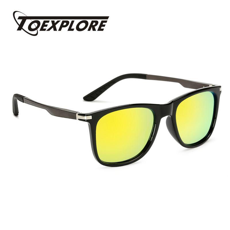 80e485bdc88 Wholesale TOEXPLORE Polarized Men Anti-Glare Sunglasses Driving Eyewear  Outdoor Sun Glasses Brand Designer New Fashion High Quality UV400 Online  with ...