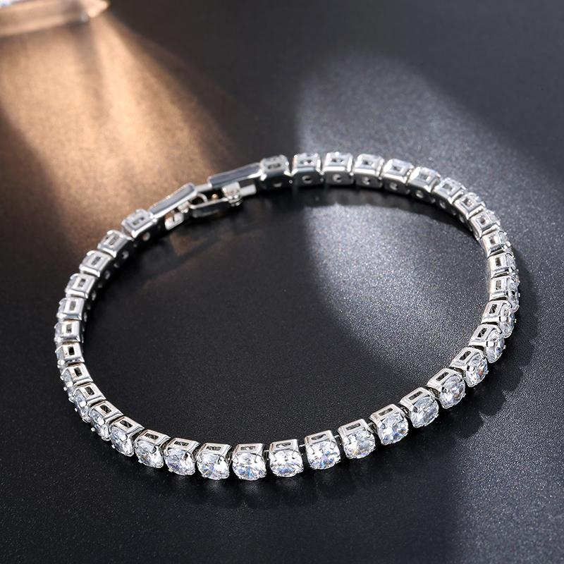 Ladies Silver Fashion Bracelet Pretty And Colorful Bracelets Costume Jewellery