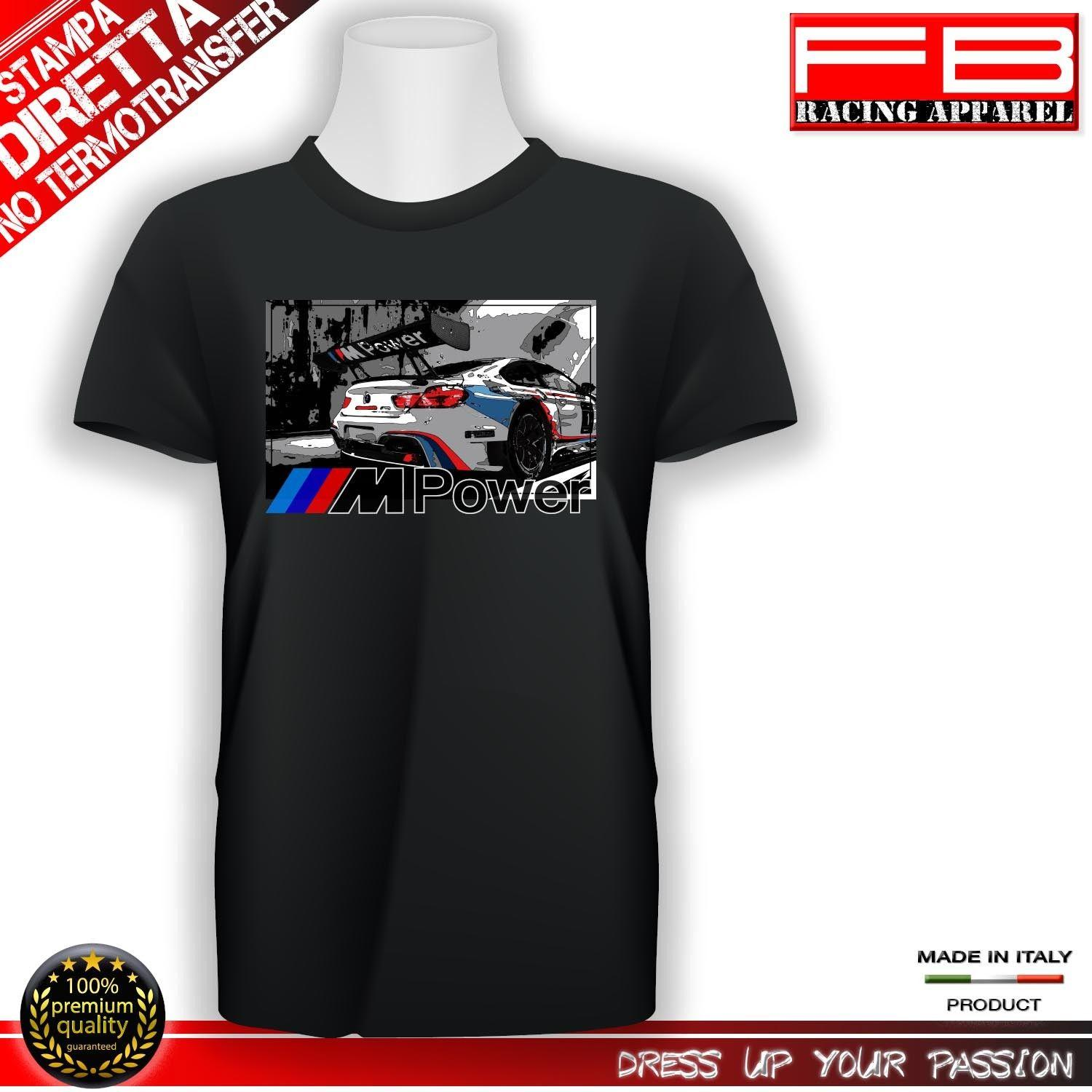 e474bdea7 T Shirt Men O Neck High Quality Hot Sell M Power M Performance M1 M3 M4 M5  M6 Tuning Top Quality ! Awesome T Shirt Clever T Shirts From Onecktshirt,  ...