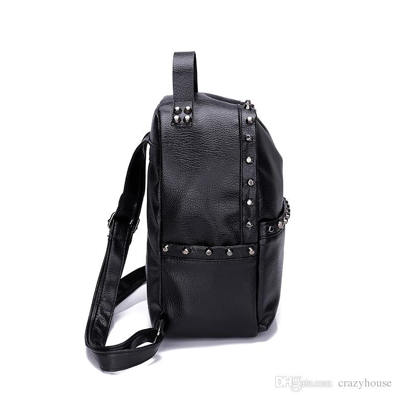 3b28e84441 Luxury Brand Canvas Leather Designer Backpack Handbags Men Backpack ...