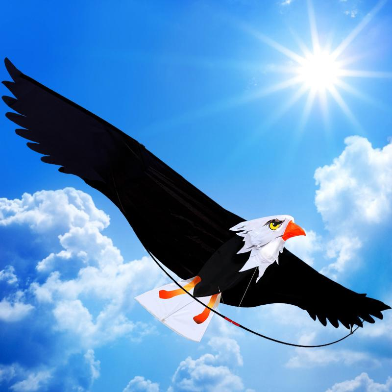 3D Eagle Kite Single Line Large Bird Style Flying Kite Niños Kite de juguete al aire libre envío gratis