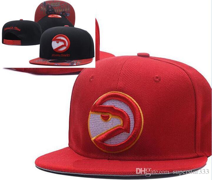 ca1db51dcf0 National Team Atlanta Hat ATL Cap Baseball Embroidered Letter Flat Curved  Brim Hats Snapback Cap Snapback Sports Chapeu For Men Women 59fifty  Snapback Cap ...