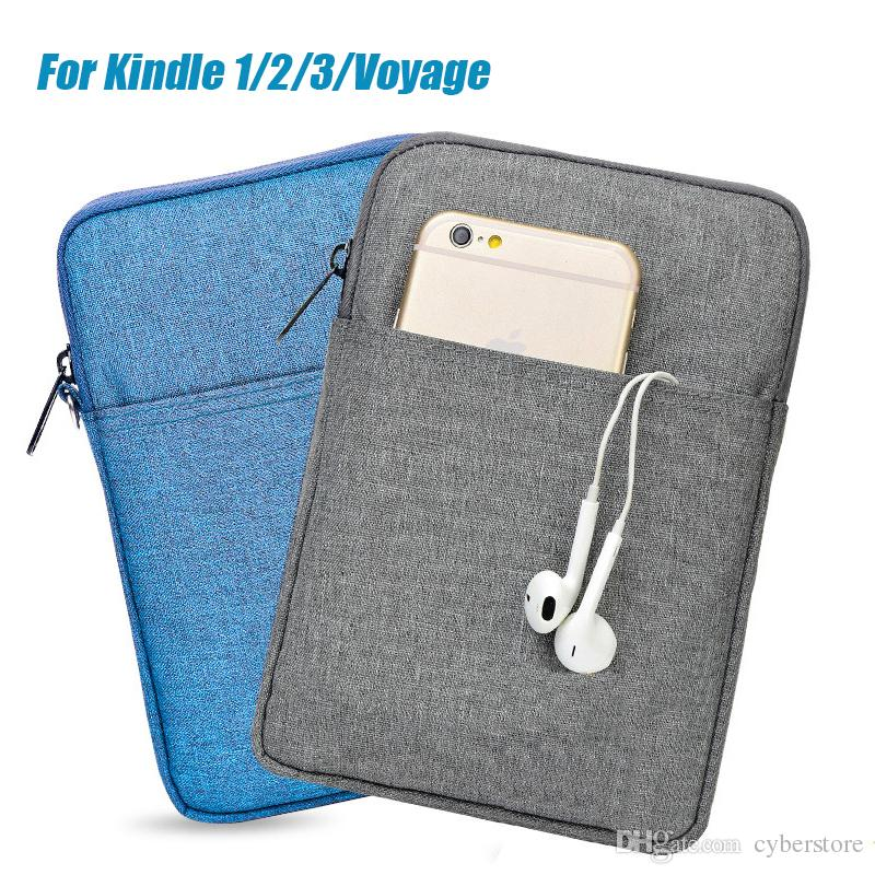 6 inç Tablet Çantası Kol Çantası Amazon Kindle için Kindle Paperwhite 2 3 Voyage 7 8 Pocketbook Ebook Kapak Kılıfı Case