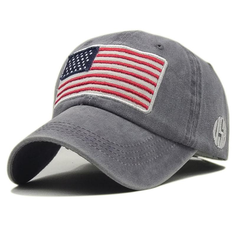 0004f3fdc1545d New Summer Washed Cotton Baseball Caps For Men Women Casual Casquette  Embroidery USA Flag American Snapback Cap Dad Hats Gorras Baseball Hats  Newsboy Cap ...
