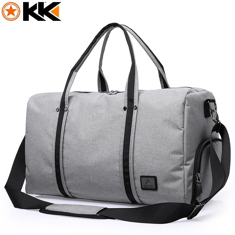 97897a543 2019 KAKA Large Capacity Travel Bag Men Hand Luggage Travel Duffel Bag  Women Casual Polyester Multifunctional Shoulder Travel Bags From  Xinxintai01, ...