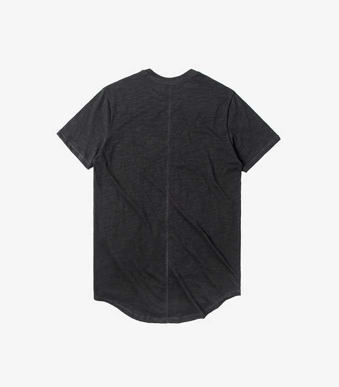 Tamaño EE. UU. Mens Hiphop Tees Summer Sweat Extended Tee Destroy Oversized Camiseta Scratch Tyga Kanye West Camisas Hombres Ropa Estilo