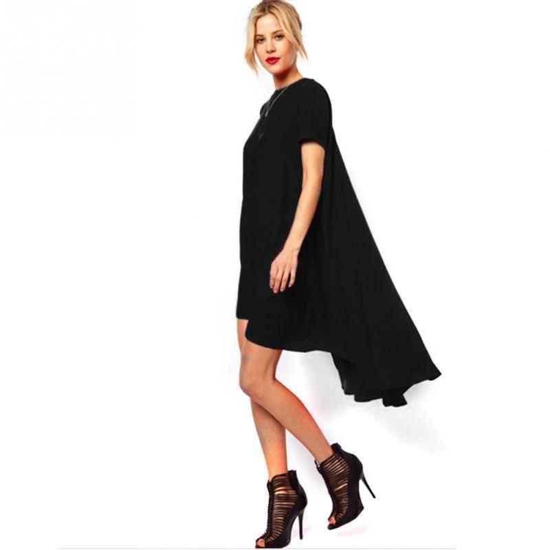 58e60b6562ae Women Irregular Hem Bohemian Red Beach Dress Loose Flare Tunic Female  Sleeveless Beachwear Boho Gowns Dresses Online with  31.52 Piece on  Stephanie02 s ...