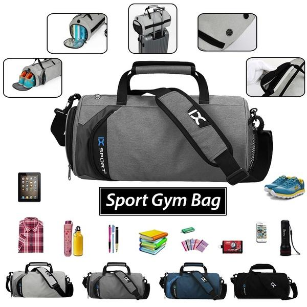 Light Weight Fitness Sport Small Gym Bag With Shoes Compartment Waterproof  Travel Duffel Bag For Women And Men Branded Handbags Womens Handbags From  ... 7c0933a706ad6