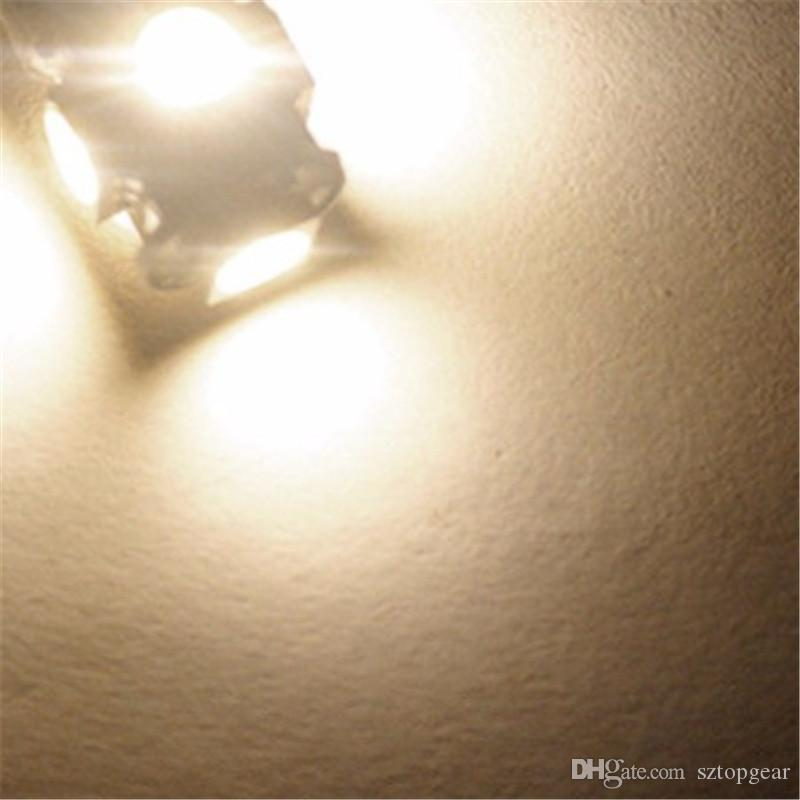 T10 194 168 5 SMD 5050 LED Indicatore luminoso auto Lampadine interne Luce strumenti Lampada porta cuneo 24 V Caldo / Bianco