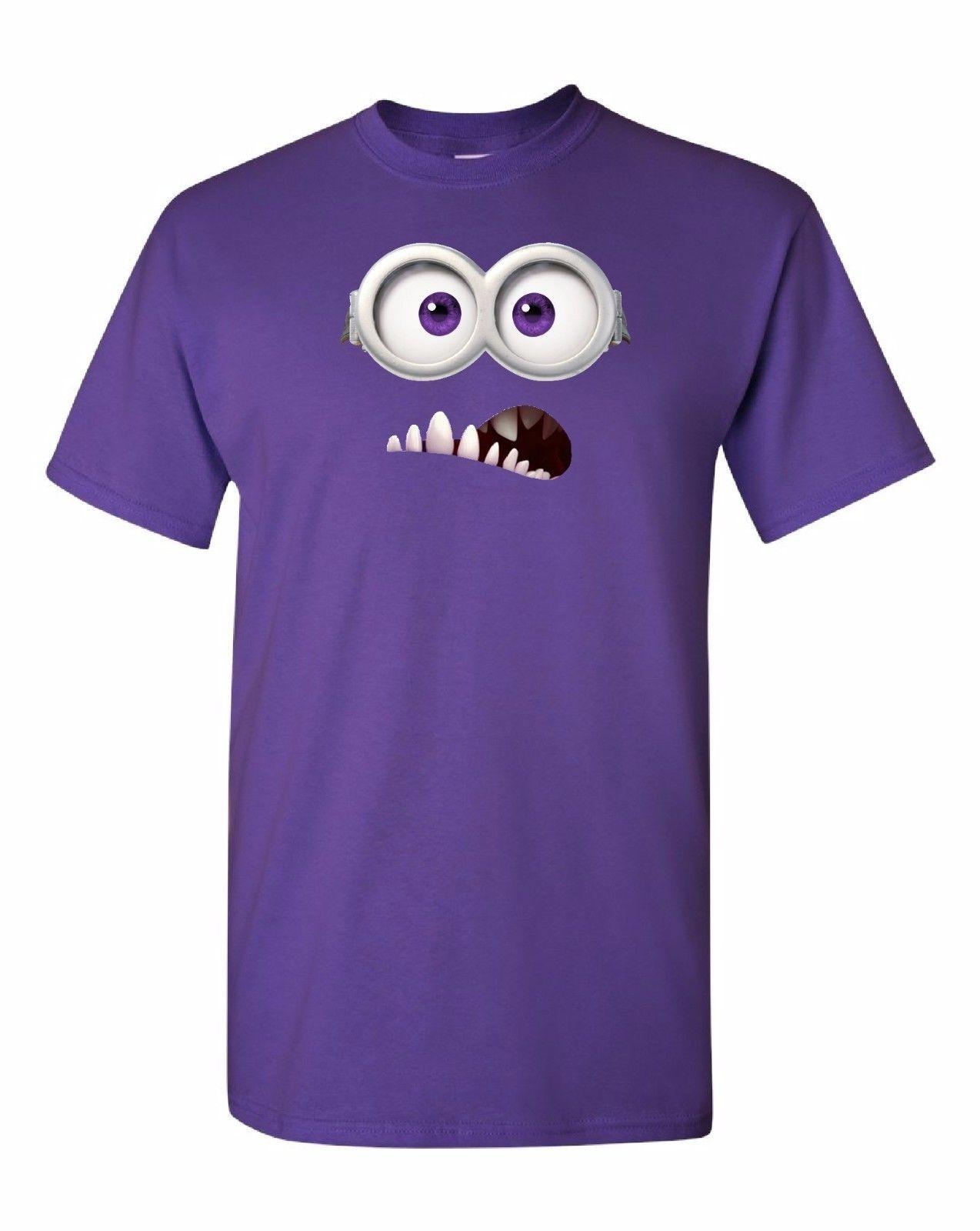 evil minion eyes wideopen t shirt 100 cotton tee by bmf apparel