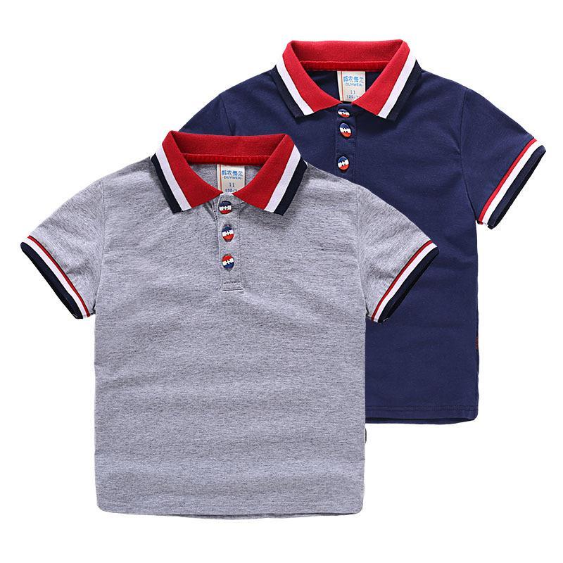 85b330ba 2019 Hot Sale 100 %Cotton Summer Baby Boys High Quality Clothes Short  Sleeve Kids Brand Shirt Children Boys Polo Shirts From Okbrand, $21.54 |  DHgate.Com