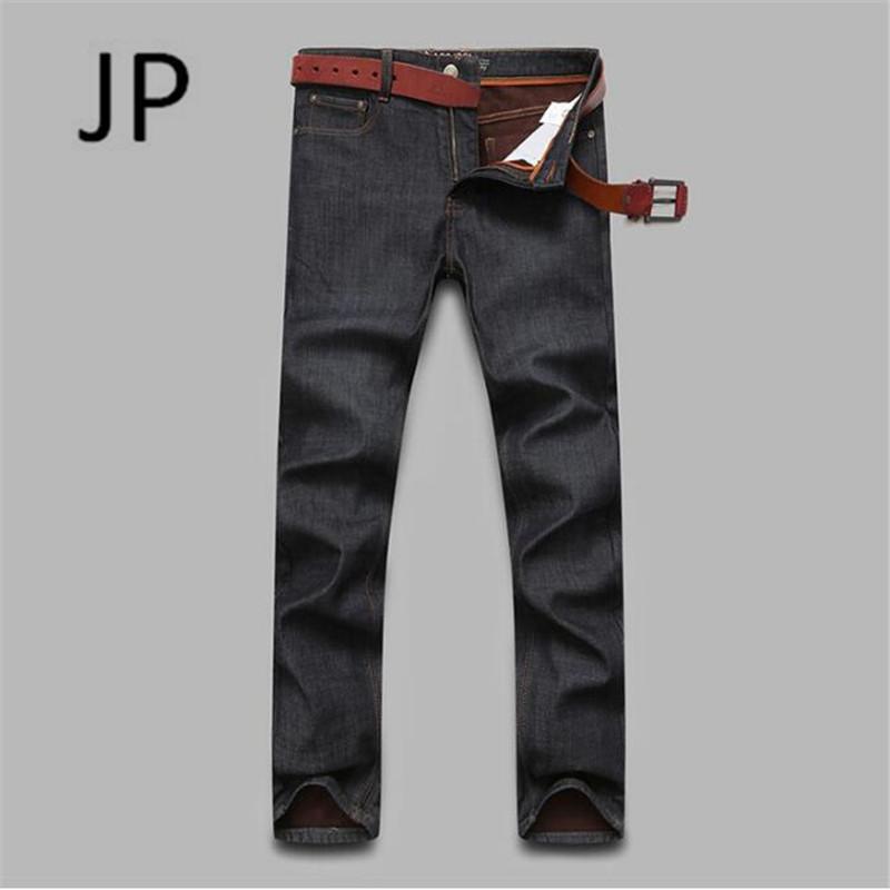 e95301be3ff2e 2019 Cashmere Fleece Inner Keep Warmly Jeans For Men