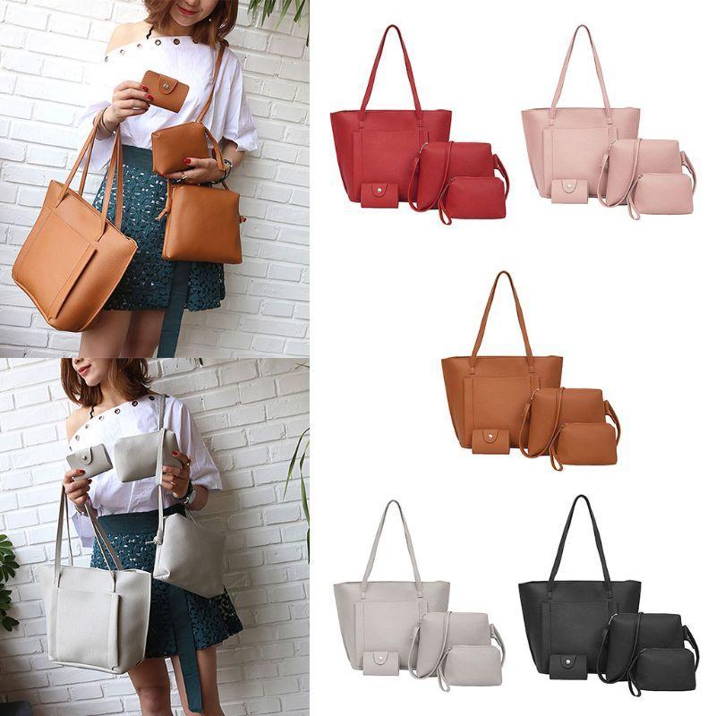 Fashion New Vintage Women Lady Leather Shoulder Bags Tote Purse ... 40e9078506642