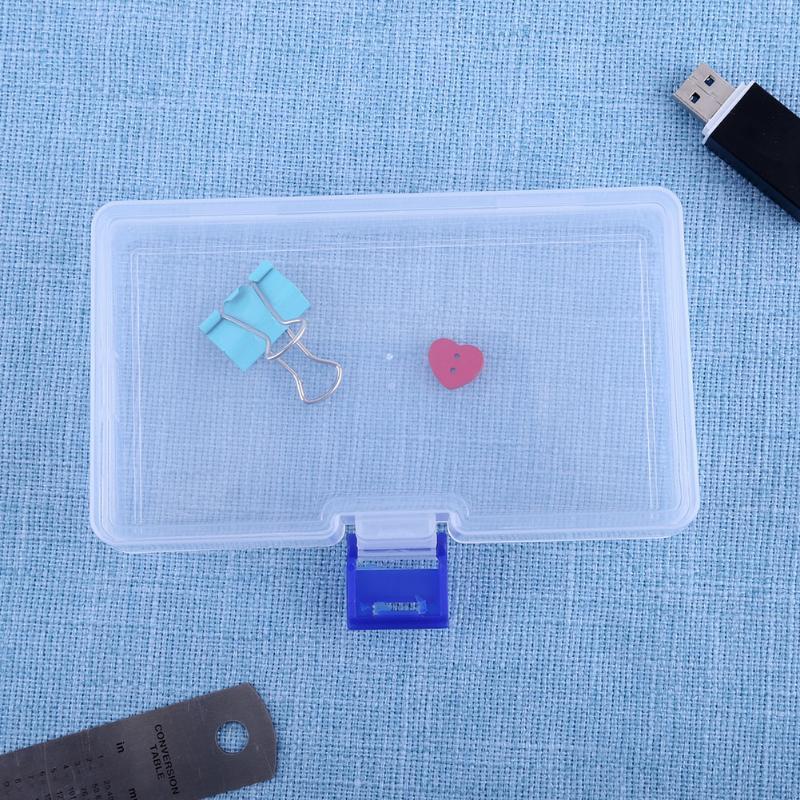 Caja de herramientas Caja de contenedores de plástico electrónico para herramientas Caja Tornillo Costura Cajas de PP Componente transparente Tornillo Caja de almacenamiento de joyas